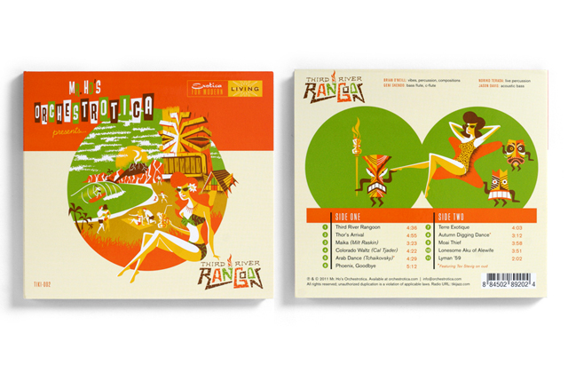 CD Cover and Back - Third River Rangoon (May 2011)
