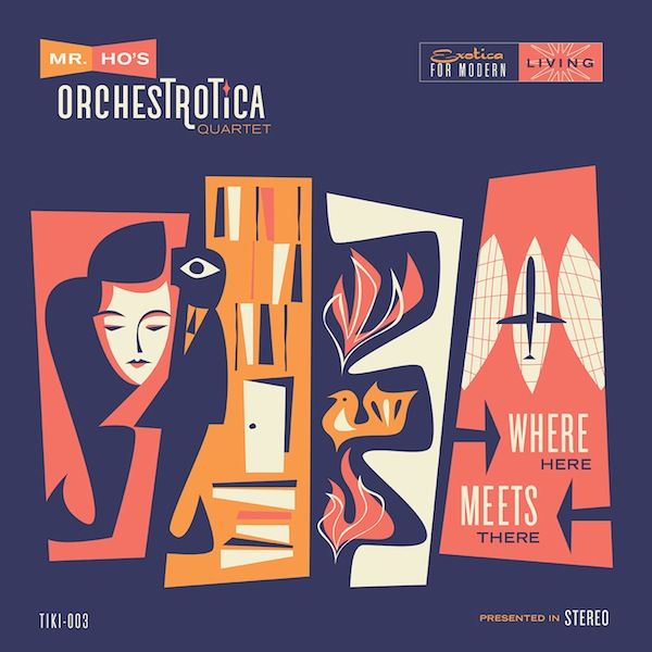 Cover Image of the new album, Where Here Meets There